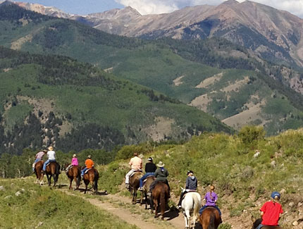 Vickers Ranch Horse Trail Rides