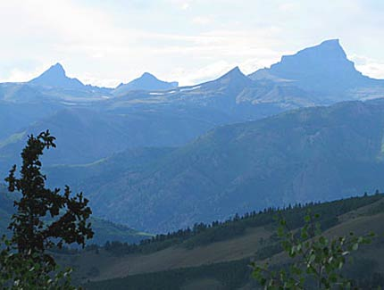 Uncompahgre Peak View from Windy Point